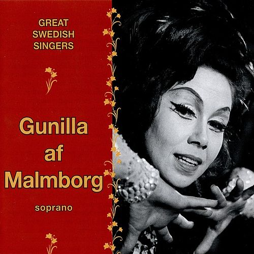 Great Swedish Singers - Gunilla Af Malmborg by Gunilla Af Malmborg