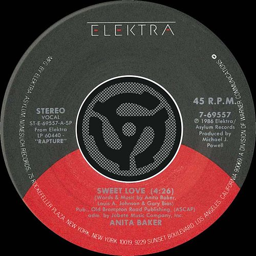 Sweet Love / Watch Your Step [Digital 45] von Anita Baker