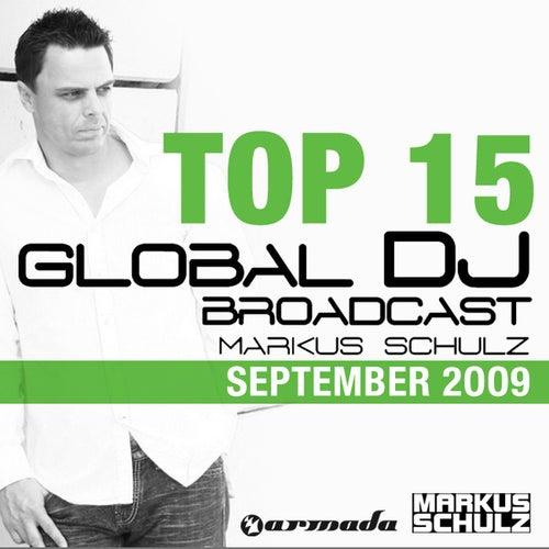 Global DJ Broadcast Top 15 - September 2009 by Various Artists