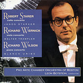 Robert Starer/Richard Wernick/Richard Wilson by Various Artists