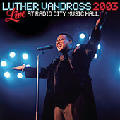 Live At Radio City Hall by Luther Vandross
