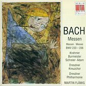 BACH, J.S.: Masses - BWV 233-236 (Flamig) by Peter Schreier