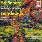 Play & Download SCHOENBERG, A.: 5 Orchestral Pieces / Variations for Orchestra / LUTOSLAWSKI, W.: Funeral Music / Livre pour orchestre (Berlin Symphony, Herbig) by Gunther Herbig | Napster