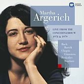 Play & Download Bach - Bartók - Chopin - Ginastera - Prokofiev - Scarlatti by Martha Argerich | Napster