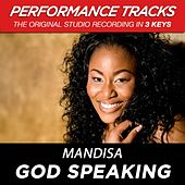 God Speaking (Premiere Performance Plus Track) by Mandisa