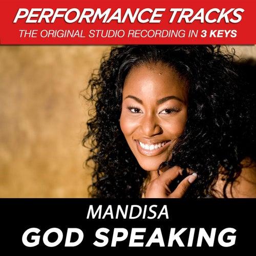 God Speaking (Premiere Performance Plus Track) by Mandisa