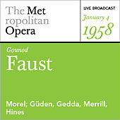 Play & Download Gounod: Faust (January 4, 1958) by Various Artists | Napster