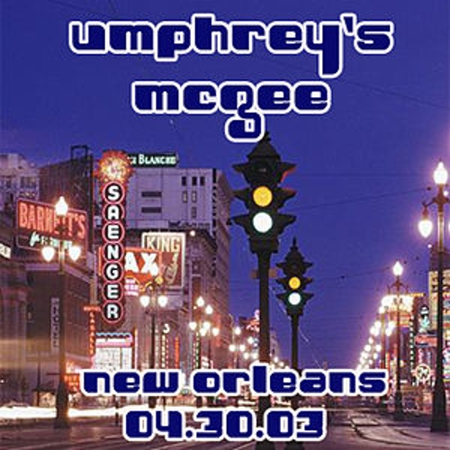 04-30-03 - House of Blues - New Orleans, LA by Umphrey's McGee