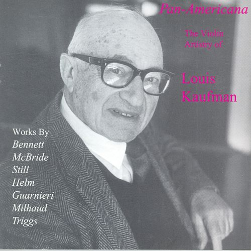 Play & Download BENNETT, R.R.: Violin Concerto / A Song Sonata / HELM, E.: Comment on Two Spirituals / GUARNIERI, C.: Violin Sonata No. 2 (Kaufman) (1933-1947) by Louis Kaufman | Napster