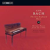 BACH, C.P.E: Keyboard Music, Vol. 19 (Spanyi) by Miklos Spanyi