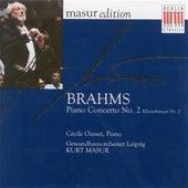 Play & Download BRAHMS, J.: Piano Concerto No. 2 (Ousset, Leipzig Gewandaus Orchestra, Masur) by Kurt Masur | Napster
