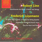 Play & Download LINN, R.: Divertimento for Oboe, 2 Horns and String Quintet / LESEMANN, F.: 5 Fugues / Doubles / Duo for Horn and Piano (Schmidt) by Various Artists | Napster