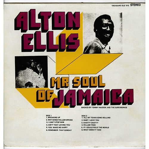Play & Download Mr. Soul of Jamaica by Alton Ellis | Napster