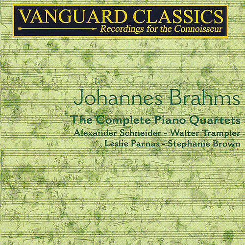 Play & Download The Complete Piano Quartets by Johannes Brahms | Napster