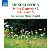 MENDELSSOHN, Felix: String Quartets, Vol. 2 (New Zealand String Quartet) - String Quartets Nos. 2, 5 / Capriccio / Fugue by New Zealand String Quartet
