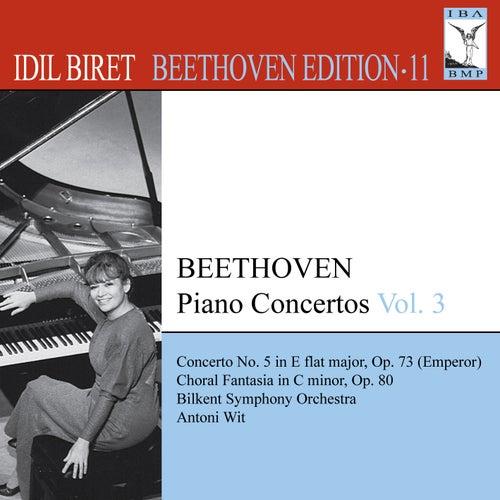 Play & Download BEETHOVEN, L. van: Piano Concertos, Vol. 3 (Biret) - No. 5, 'Emperor' / Choral Fantasy (Biret Beethoven Edition, Vol. 11) by Idil Biret | Napster