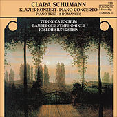Play & Download SCHUMANN, C.: Piano Concerto, Op. 7 / Piano Trio, Op. 17 / 3 Romanzen (Jochum, Silverstein, Carr, Bamberg Symphony) by Joseph Silverstein | Napster