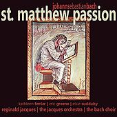 Play & Download St. Matthew Passion by The Jacques Orchestra | Napster