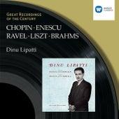 Chopin/Liszt/Ravel/Brahms/Enescu:Piano Recital by Dinu Lipatti