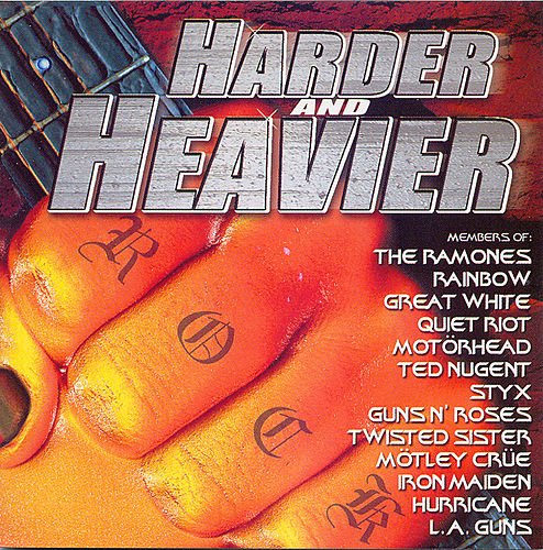 Play & Download Harder & Heavier by Various Artists | Napster