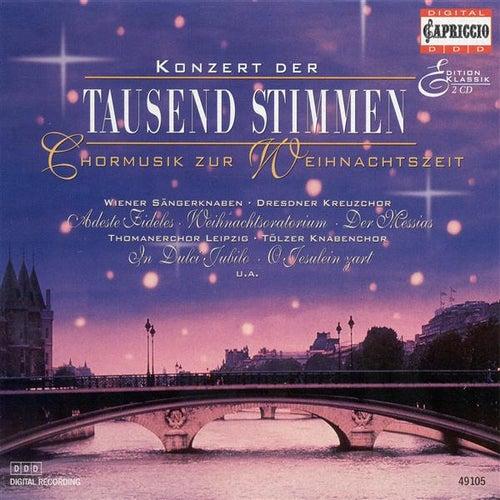 Play & Download Christmas Choral Concert - Handel, G.F. / Mozart, W.A. / Bach, J.S. / Praetorius, M. / Gruber, F.X. / Bach, J.C.F. / Adam, A. by Various Artists | Napster
