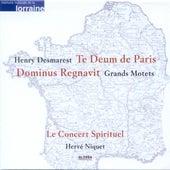 Play & Download DESMARETS, H.: Dominus regnavit / Te Deum (Le Concert Spirituel, Niquet) by Stephan Van Dyck   Napster