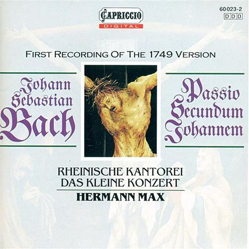 Play & Download BACH, J.S.: St. John Passion (Max) by Dorothea Roschmann | Napster