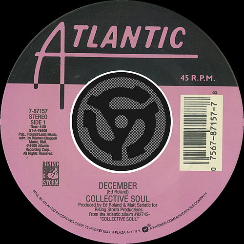 December / Gel [Digital 45] by Collective Soul