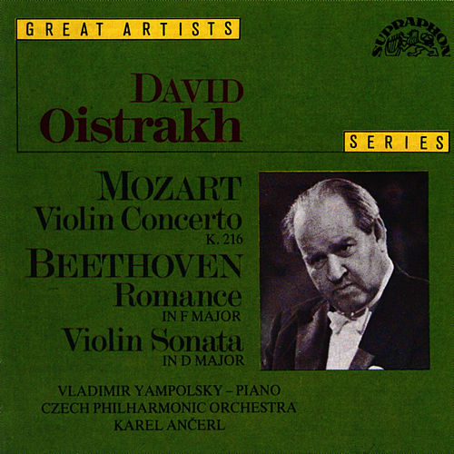 Play & Download Mozart: Concerto No. 3 in G major, K. 216, Beethoven: Romance No. 2 in F major, Op. 50 by David Oistrakh | Napster