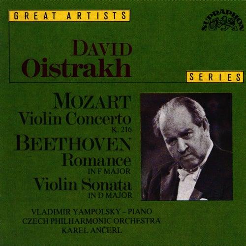 Mozart: Concerto No. 3 in G major, K. 216, Beethoven: Romance No. 2 in F major, Op. 50 by David Oistrakh