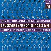 Bruckner: Symphonies Nos. 3 & 4 by Various Artists