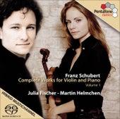 SCHUBERT, F.: (Vol. 1) Complete Violin Sonata (Fischer, Helmchen) by Julia Fischer