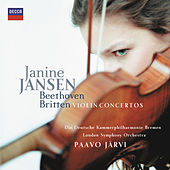 Play & Download Beethoven & Britten Violin Concertos by Janine Jansen | Napster