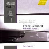 Schubert: Piano Works Vol. 3 by Gerhard Oppitz