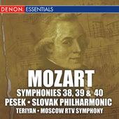 Mozart: Symphonies 38