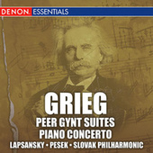 Grieg: Peer Gynt Suites Nos. 1 & 2, Piano Concerto, Op. 16 by Slovak Philharmonic Orchestra