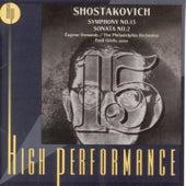 Play & Download Symphony No. 15 / Sonata No. 2 Op. 64 by Dmitri Shostakovich | Napster