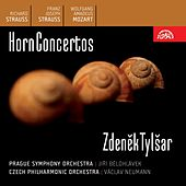 Play & Download Richard Strauss / Franz Strauss / Mozart:  Horn Concertos by Zdenek Tylsar | Napster