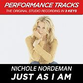 Play & Download Just As I Am (Premiere Performance Plus Track) by Nichole Nordeman | Napster