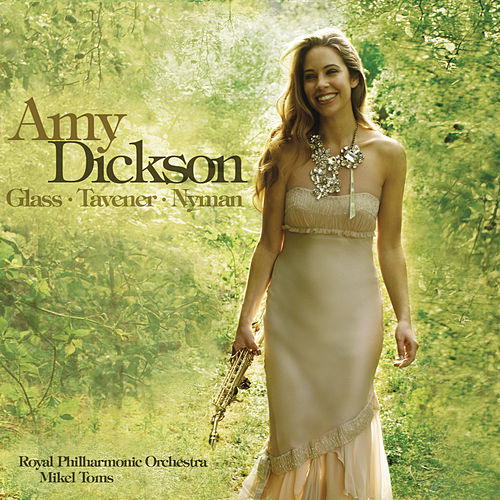 Play & Download Glass, Tavener & Nyman by Amy Dickson | Napster