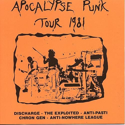 The Apocalypse Punk Tour 1981 by Various Artists