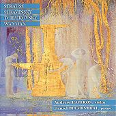 Play & Download Strauss: Sonata in E-Flat Major - Stravinsky: Divertimento, et al. by Andrew Haveron | Napster