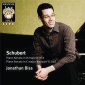 Schubert: Piano Sonatas by Jonathan Biss