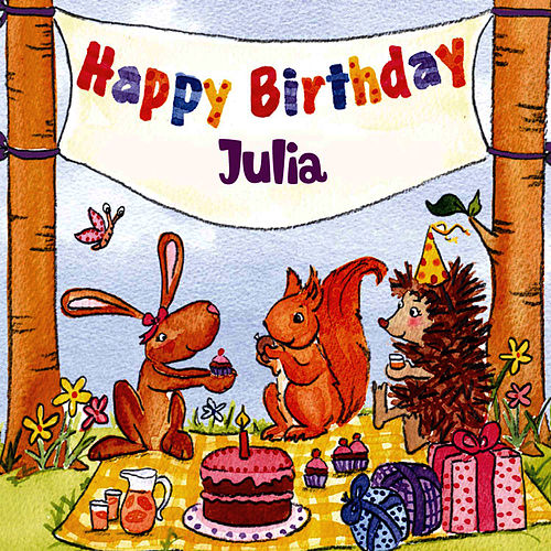 Happy Birthday Julia by The Birthday Bunch