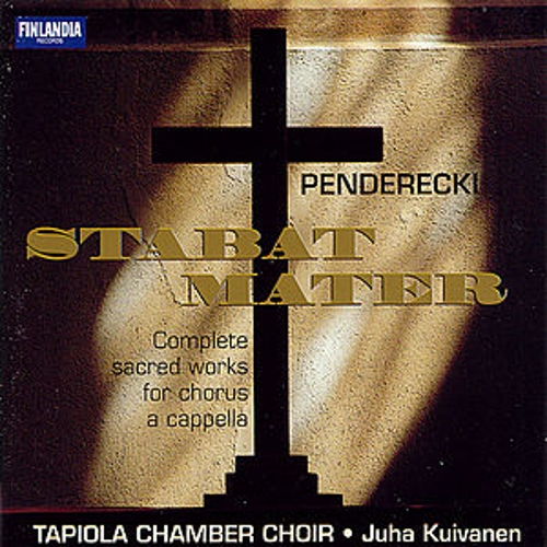 Play & Download Complete Sacred Works for Chorus and A Cappella by Krzysztof Penderecki | Napster