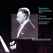 Brahms: Piano Concerto No. 2, Grieg: Piano Concerto by Various Artists
