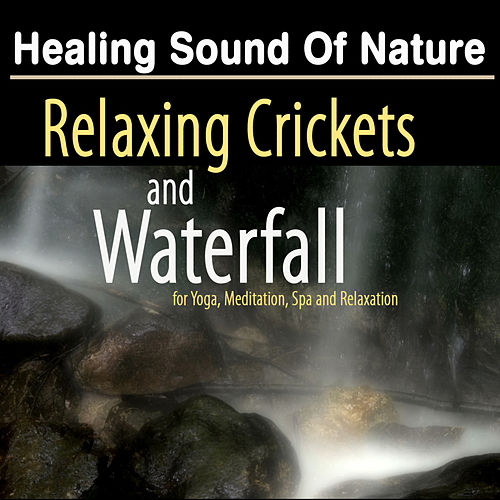 Healing Sound of Nature: Relaxing Crickets and Waterfall - Natural Music and White Noise for Yoga, Meditation and SPA Relaxation by Deep Sleep Music