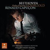 Play & Download Beethoven Korngold Violin Concertos by Rotterdam Philharmonic Orchestra | Napster
