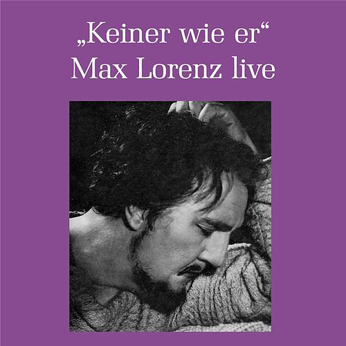 Play & Download Max Lorenz - Keiner war wie er by Max Lorenz | Napster