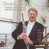 Thomas Stacy plays Fuchs, Berg, Ravel, Downey, Yvon and Read by Thomas Stacy